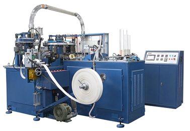 الصين SCM-600 90PCS / دقيقة ورقة التلقائي آلة كأس / صنع الآلات مع سخان ختم / وحدة الموجات فوق الصوتية موزع